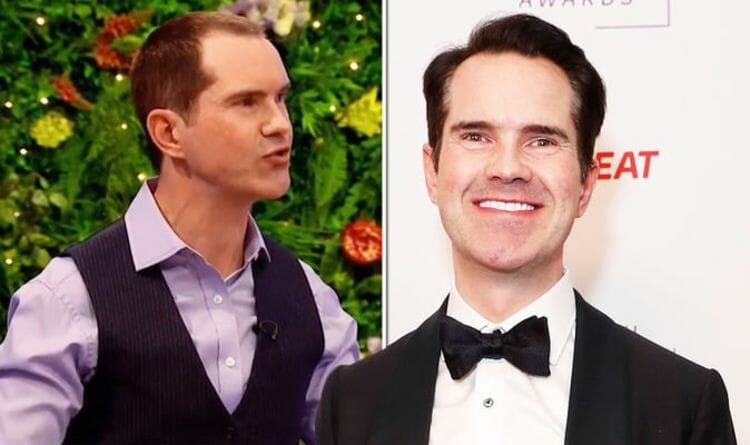 Jimmy Carr Before and after photo