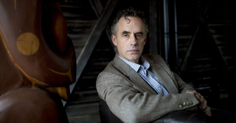 Jordan Peterson in suit